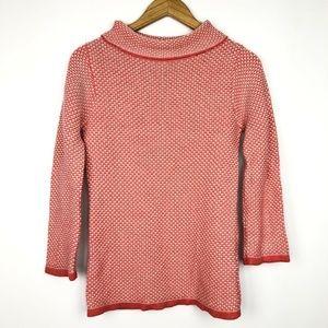 Anthropologie Boden Textured Turtleneck Sweater
